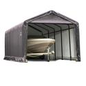 ShelterTUBE Storage Shelter 12 x 25 x 11 Gray Cover