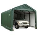 ShelterTUBE Storage Shelter 12 x 20 x 11 Green Cover