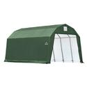 Barn Shelter 12 x 20 x 11 Green Cover