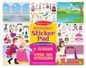 Reusable Sticker Pad Princess Castle