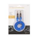 Blue Max Flat Auxiliary Cord, 6'
