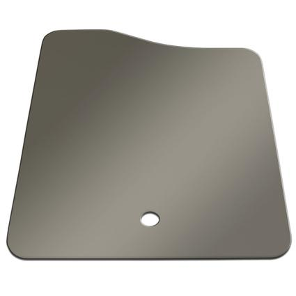 Large Sink Cover - Stainless Steel Color