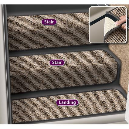 Decorian 13.5 Inch Step Huggers for RV Stairs - Peppercorn
