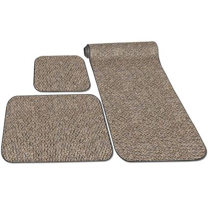 Decorian 3-Piece RV Rug Set - Peppercorn
