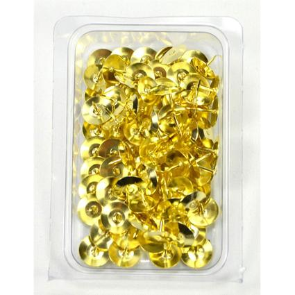 Brass Thumb Tacks - 100 ct.