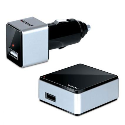 i.Sound USB Wall/Car Charger
