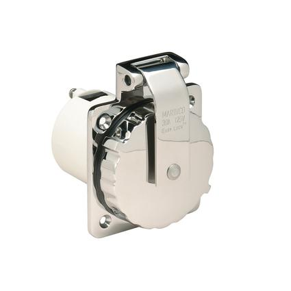 30A Stainless Steel RV Power Inlet