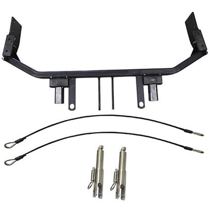 Blue Ox Tow Bar Baseplates - Fits Honda Civic SI with foglights
