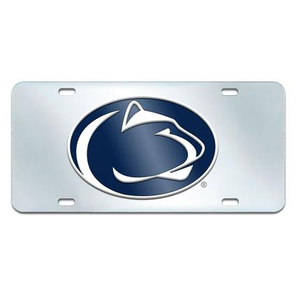 Fanmats Mirrored Team License Plate - Penn State