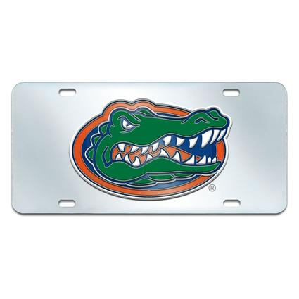 Fanmats Mirrored Team License Plate - University of Florida