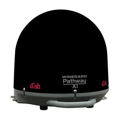 Winegard Pathway X1 Portable Satellite Antenna, Black