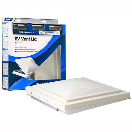 Replacement Vent Lid - Ventline pre-2008 & Elixir 1994 and up, White
