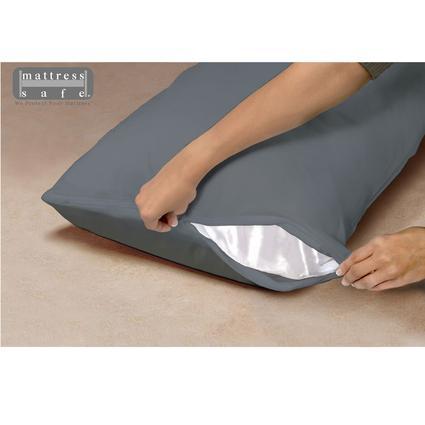 """Standard Waterproof Pillow Encasement, 21"""" x 27"""" - Slate Gray"""