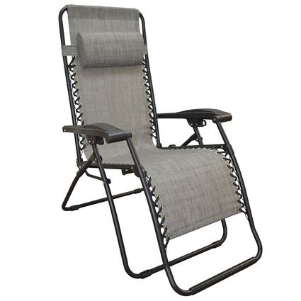 Zero Gravity Recliner, Grey