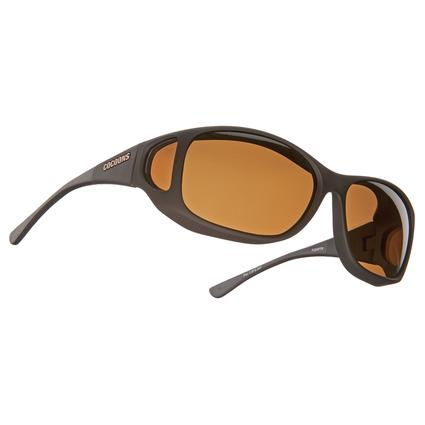 Cocoons Style Line MX Sunglasses - Black with Amber Lens