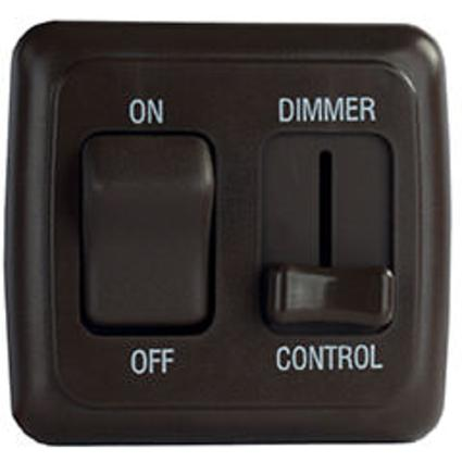 LED Strip Lighting, Light Dimmer - Black