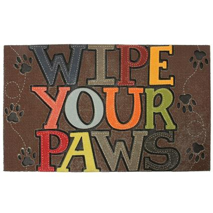 Wipe Your Paws Outdoor Mat, 18