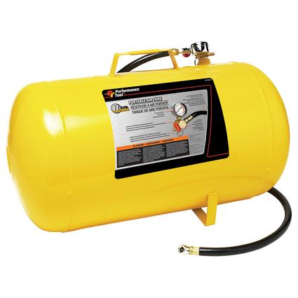Portable Compressed Air Tank, 11 Gallon
