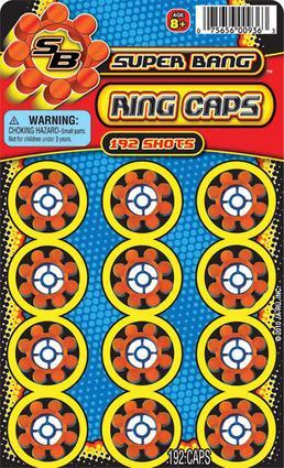 Super Bang Ring Caps
