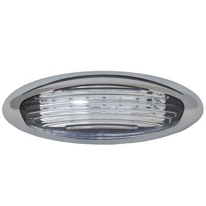 LED Exterior Porch Light, Chrome