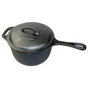 Man Law Cast Iron 3 qt. Pot