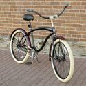 Villy Cruiser Bikes, Men's Black Cruiser