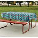 RV Chevron Tablecloth