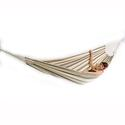 Single Brazilian Barbados Hammock, Cappuccino