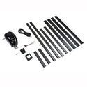 Manual Crank to Power Upgrade Kit, Black