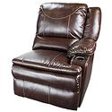 Marquee Left Arm Reclining Sofa, Jaleco Chocolate