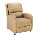 Push Back Recliner, Beckham Tan