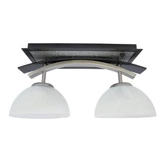 Willow Two Bulb Dinette Light Black Nickel Combo