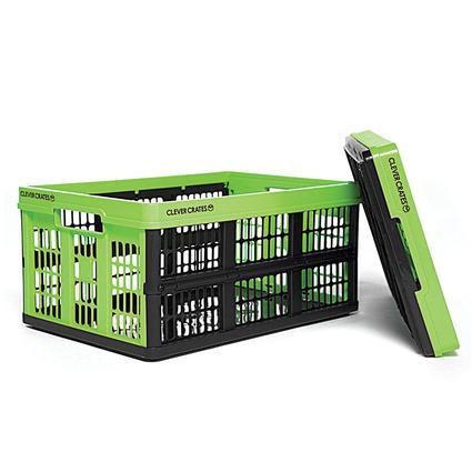 Folding Utility Crate, 45L