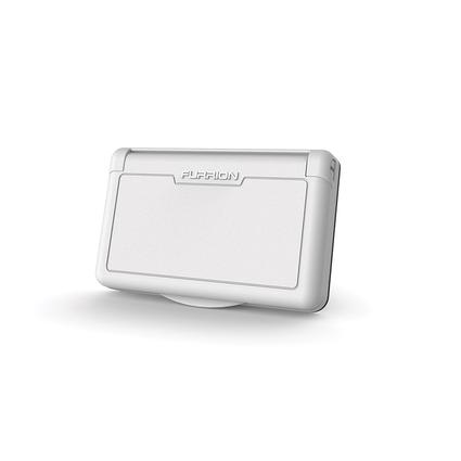 Exterior Electric Receptacle Cover, White