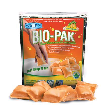 Bio-Pak Natural Enzyme Deodorizer Waste Digester - Tropical Breeze