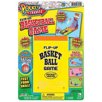 Pocket Travel Flip-Up Basketball