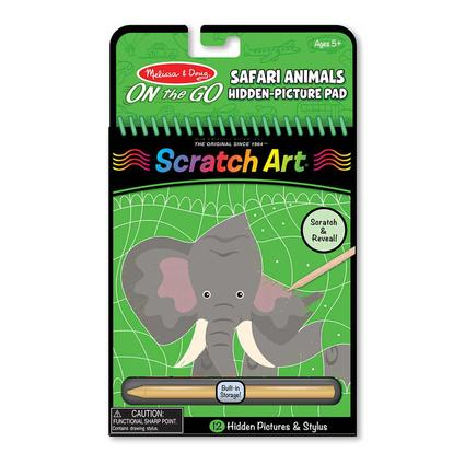 Safari Animals Hidden-Picture Pad