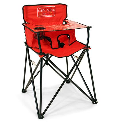 Baby Go-Anywhere-Highchair, Red