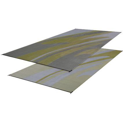 Reversible Mirage Mat, 8' x 20' - Silver/Gold