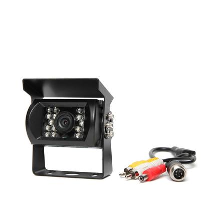 Rear View Camera System - 130° Camera with 18 Infra-Red Illuminators