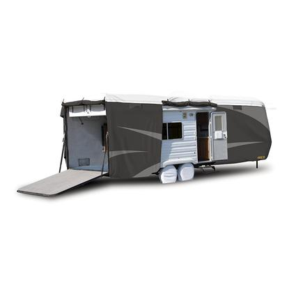 ADCO All Climate Wind Designer Tyvek RV Cover - Toy Hauler, 30'1