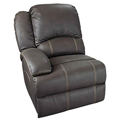Heritage Right Arm Reclining Sofa, Beckham Walnut