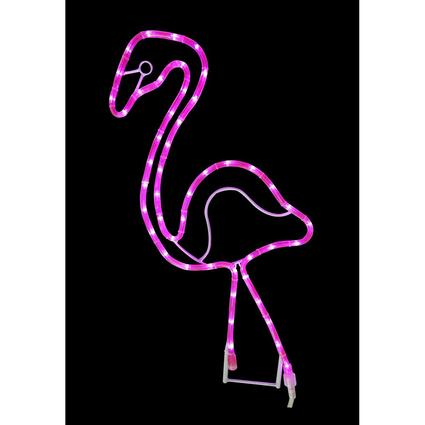 Flamingo LED Rope Light, 2'