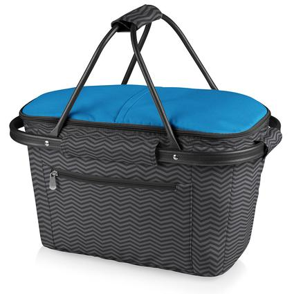 Market Basket Collapsible Tote - Waves