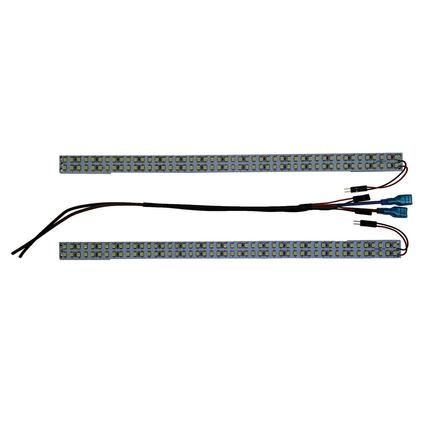 600 Lumen White LED Replacement Panels for Fluorescent Lights, 2-Pack