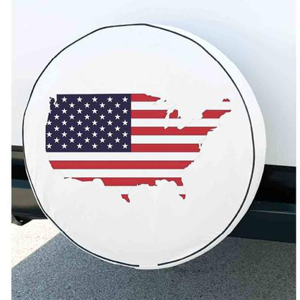 Flag Spare Tire Cover, 29