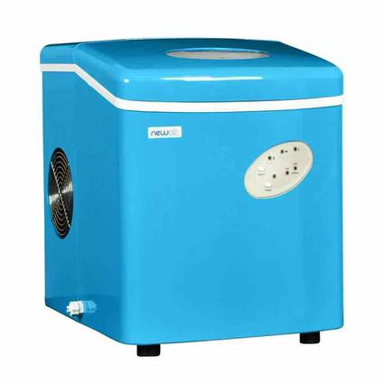 Blue NewAir Portable Ice Maker
