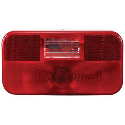 RV Stop/Tail/Turn Tail Light w/o illuminator w/ backup light Red
