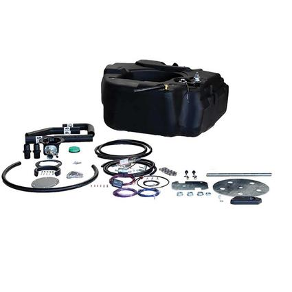 Titan Spare Tire Auxiliary Fuel System, For 1999-2007 Ford F250, F350, and F450 HD Pickups with Power Stroke Engine
