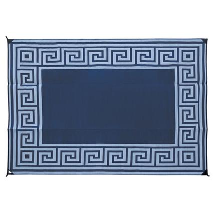 Reversible Patio Mats, Greek Motif Design